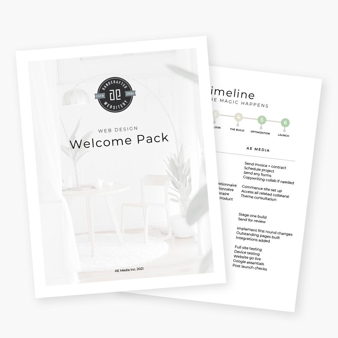 AE Media - Welcome Pack