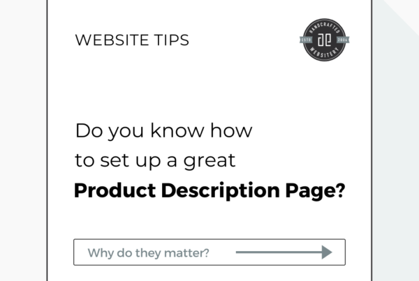 How to set up a product page